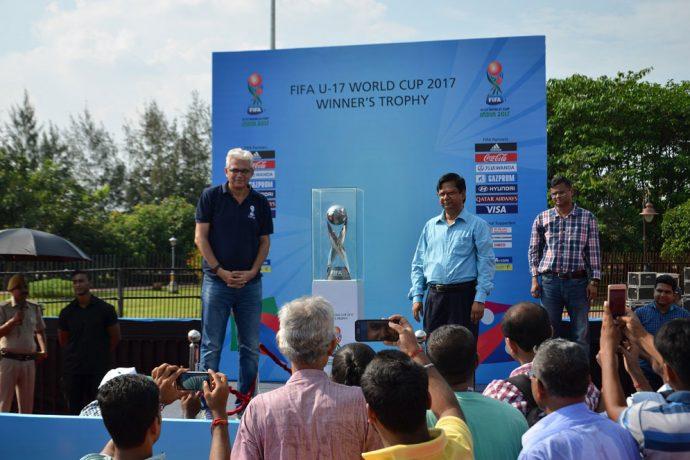 Football Takes Over the Eco Park in Kolkata. (Photo courtesy: FIFA U-17 World Cup India 2017 LOC)