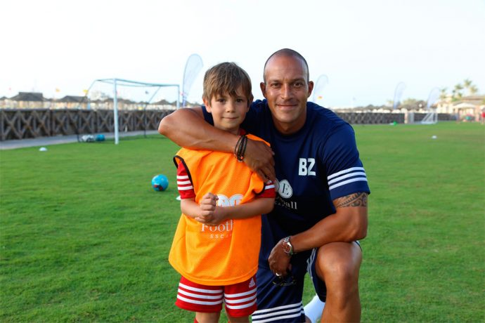 Yanqi Island, managed by Kempinski Football Camp with Bobby Zamora (Photo courtesy: Sunrise Kempinski Hotel, Beijing & Yanqi Island)