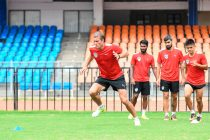 Bengaluru FC midfielder Erik Paartalu in training at the Kanteerava Stadium. (Photo courtesy: Bengaluru FC)
