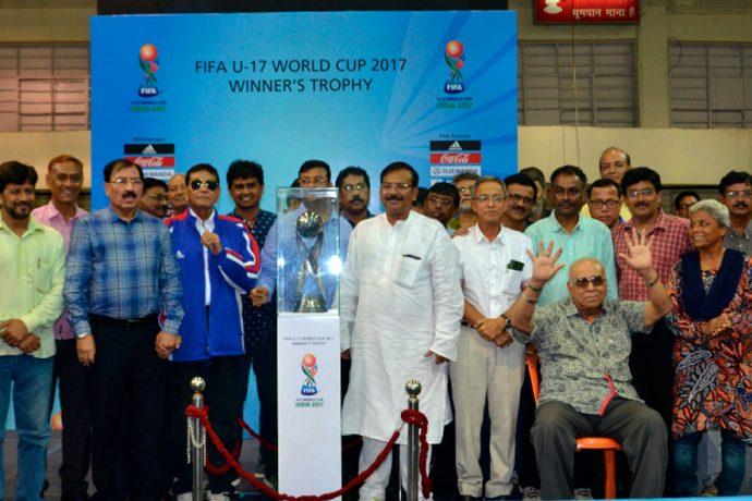 Legends across different eras welcome FIFA U-17 World Cup to Kolkata. (Photo courtesy: FIFA U-17 World Cup India 2017 LOC)