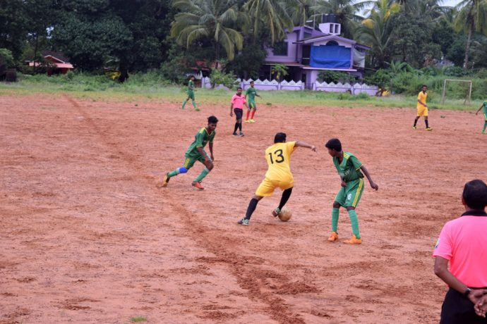 Carmona SC, St. Anthony's Club play a drab draw in GFA Third Division League (Photo courtesy: Goa Football Association)