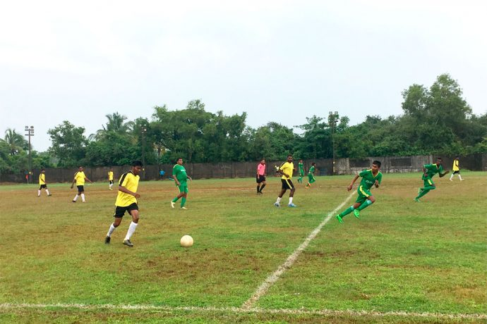 Dando Boys go down fighting to St Anthony's Colva in the GFA Third Division League (Photo courtesy: Goa Football Association)