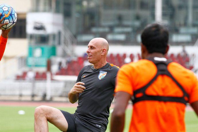 Indian national team coach Stephen Constantine. (Photo courtesy: AIFF Media)