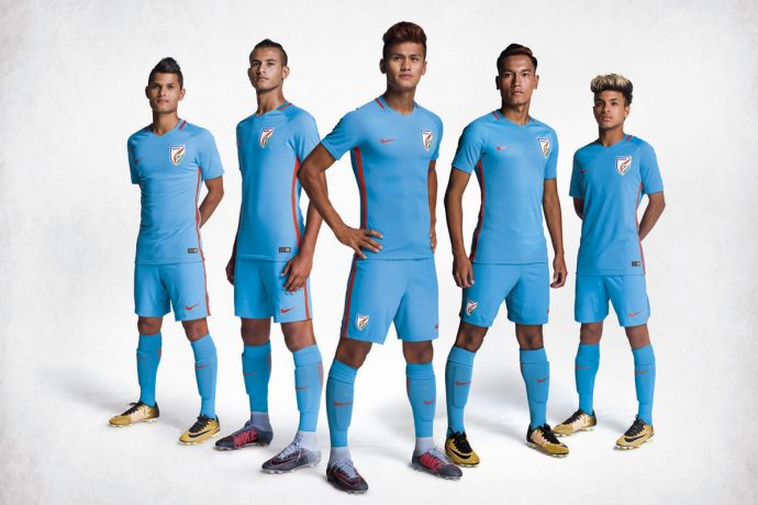 India's new football kit sets Blue Tigers up to create history. (Photo courtesy: Nike)