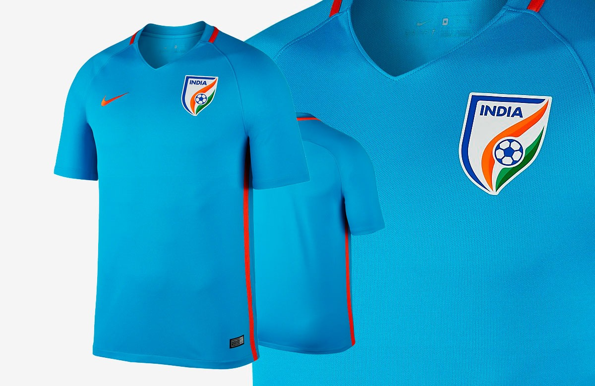 info for 8e2dd 42e01 BUY NOW ONLINE: The Indian National Team Home Jersey by Nike