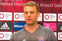 FC Bayern München and Germany goalkeeper Manuel Neuer