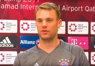 FC Bayern München and Germany goalkeeper Manuel Neuer.