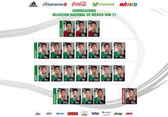 Mexico announce 21-member squad for FIFA U-17 World Cup India 2017 (Photo courtesy: Federación Mexicana de Fútbol Asociación)