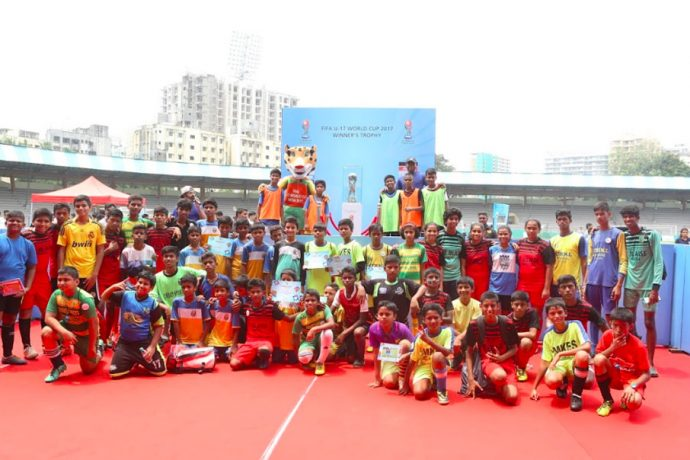 Mission XI Million Festival at the the Mumbai Football Arena. (Photo courtesy: FIFA U-17 World Cup India 2017 LOC)