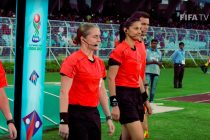 Esther Staubli at the FIFA U-17 World Cup India 2017 (Photo courtesy: Screenshot - FIFA TV)