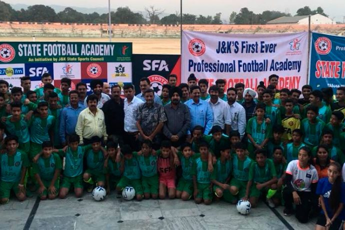 J&K State Football Academy launches in Jammu