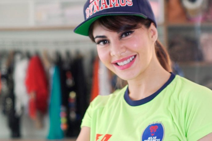 Bollywood star Jacqueline Fernandez announced as Delhi Dynamos Brand Ambassador (Photo courtesy: Delhi Dynamos FC)