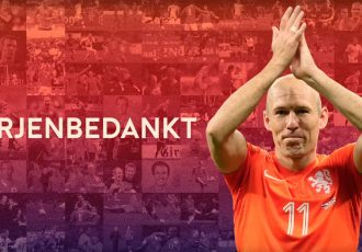 Netherlands captain Arjen Robben announces international retirement (Image courtesy: Koninklijke Nederlandse Voetbal Bond)