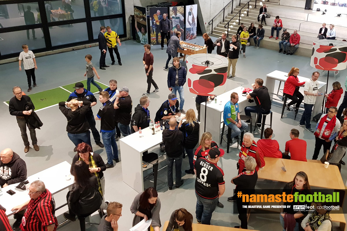 Fans at the Deutsches Fußballmuseum in Dortmund (© CPD Football)