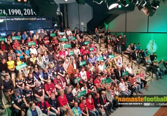 The audience during the DFB-Pokal Round of 16 draw (© CPD Football)