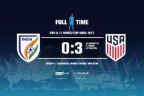 FIFA U-17 World Cup India 2017 - Group A: India 0-3 USA