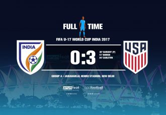 FIFA U-17 World Cup India 2017 - Group A: India 0-3 USA