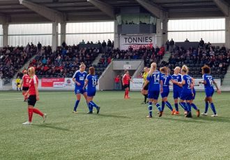 Turbine Potsdam get past FSV Gütersloh in German Women's Cup Round 2 (Photo: CPD Football)