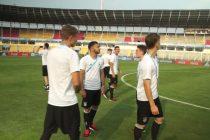 VIDEO: Germany U-17s visit to the Jawaharlal Nehru Stadium in Margao (Photo courtesy: Screenshot - DFB TV)