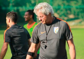 India U-17 coach Luís Norton de Matos (Photo courtesy: AIFF Media)