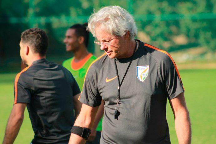 India U-17 coach Luís Norton de Matos (Photo courtesy: AIFF Media)