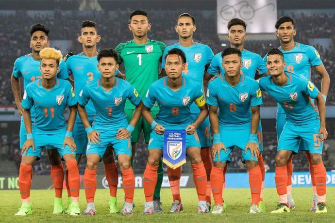 India U-17 national team at the FIFA U-17 World Cup India 2017 (Photo courtesy: AIFF Media)