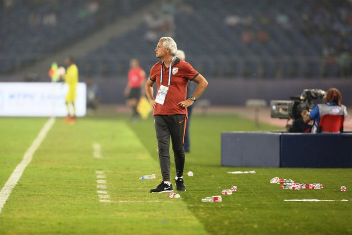 India U-17 head coach Luís Norton de Matos (Photo courtesy: AIFF Media)