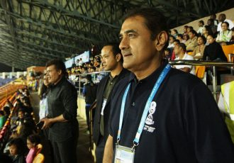 All India Football Federation President Praful Patel (Photo courtesy: AIFF Media)