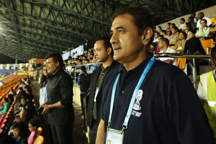 All India Football Federation President Praful Patel (Photo courtesy: AIFF Media)