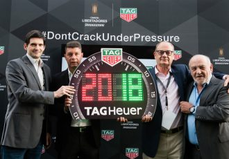 TAG Heuer becomes Official Timekeeper and Official Watch of the Copa Libertadores (Photo courtesy: TAG Heuer)