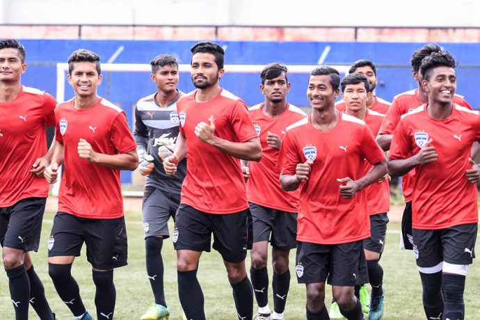 Bengaluru FC 'B' training session (Photo courtesy: Bengaluru FC)
