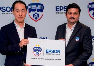 Bengaluru FC sign sponsorship deal with Epson (Photo courtesy: Bengaluru FC)