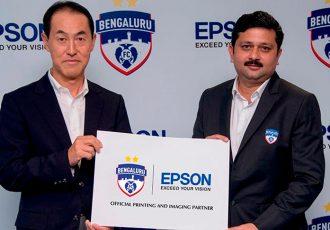 Bengaluru FC sign sponsorship deal with Epson (Photo courtesy: Bengaluru FC)