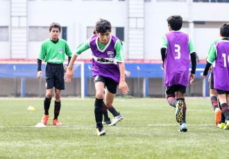 Bengaluru FC U13 in action at the Bangalore Football Stadium (Photo courtesy: Bengaluru FC)