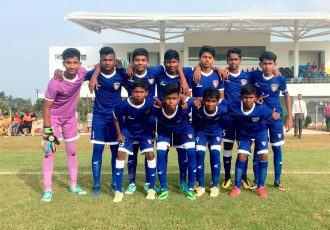 Chennaiyin FC U-13 team (Photo courtesy: Chennaiyin FC)