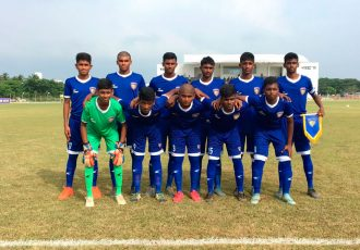 Chennaiyin FC U-15 team (Photo courtesy: Chennaiyin FC)