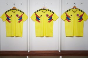 adidas reveals the new Colombia national team home kit for 2018 FIFA World Cup (Photo courtesy: adidas)