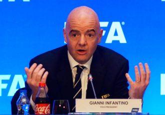 FIFA President Gianni Infantino. (Photo courtesy: AIFF Media)