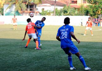 Goa Pro League action between Sporting Clube de Goa and Dempo SC (Photo courtesy: Goa Football Association)
