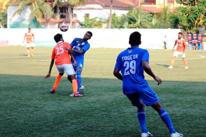 Goa Pro League action between Sporting Clube de Goa and Dempo SC (Photo courtesy: Goa Football Association)