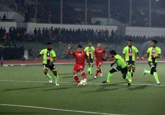 Shillong Lajong FC kick off with a 1-0 win against Gokulam Kerala FC (Photo courtesy: Shillong Lajong FC)