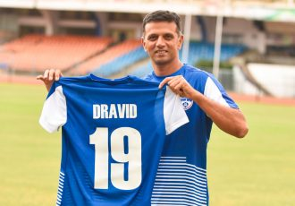 Cricket legend Rahul Dravid becomes Bengaluru FC ambassador (Photo courtesy: Bengaluru FC)