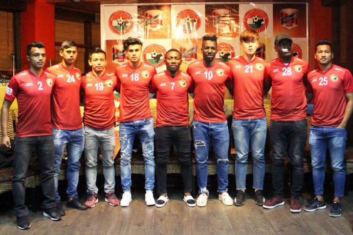 McDowell's No.1 Soda renew partnership with Shillong Lajong FC (Photo courtesy: Shillong Lajong FC)