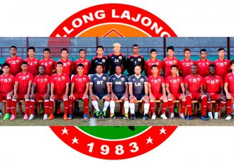 Shillong Lajong FC squad for the 2017/18 I-League season. (Photo courtesy: Shillong Lajong FC)