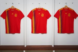 adidas reveals the new Spain national team home kit for 2018 FIFA World Cup (Photo courtesy: adidas)