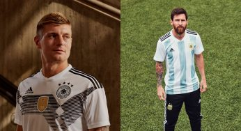 e300973a6b0011 adidas reveals eight new national team home kits for 2018 FIFA World Cup
