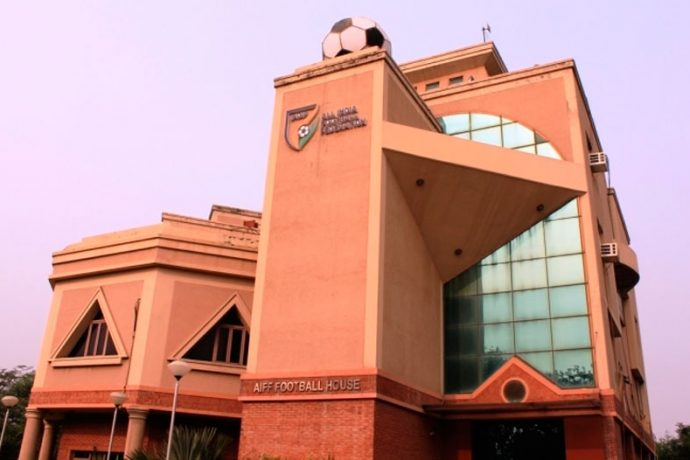All India Football Federation (AIFF) Football House in Delhi (Photo courtesy: AIFF Media)