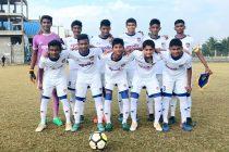 Chennaiyin FC U-15 team in the U-15 Youth League (Photo courtesy: Chennaiyin FC)