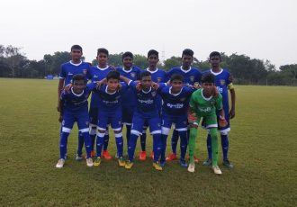 Chennaiyin FC U-15 team in the U-15 Youth League (Photo courtesy: Chennaiyin FC)