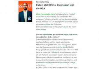 Fussball Business: Exclusive Interview with Chris Punnakkattu Daniel on Indian football